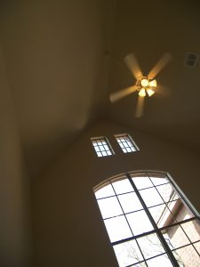 Let our Jackson, TN residential electrician install your ceiling fan.