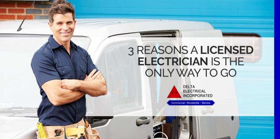 Licensed Electrician is Only Way to Go