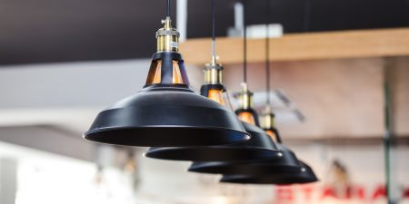An image of interior pendant lighting.