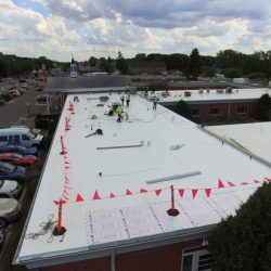 Commercial Roofing Team In Action - Denali Roofing
