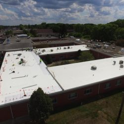Commercial roofing project in Northern Colorado - Denali Roofing