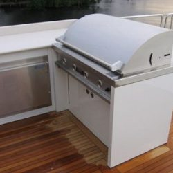 Custom Boats - Deck Side Barbecue