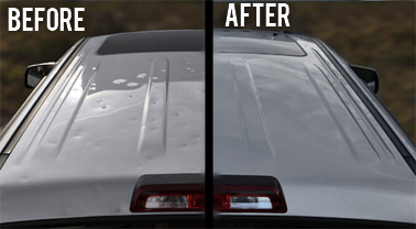 Cost Effective Hail Damage Repair