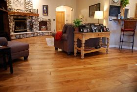 engineered hardwood hickory floor