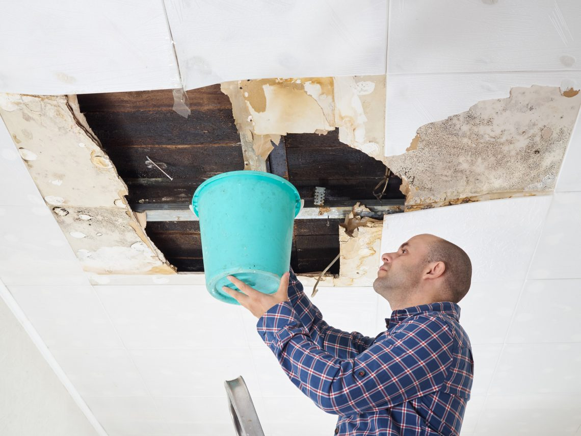 what to do with a leaky roof