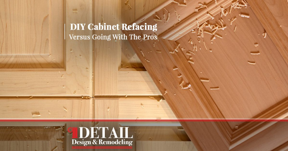 Cabinet Refacing Atlanta: DIY Vs Professional Cabinet Refinishing