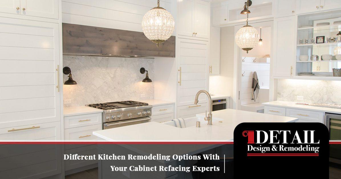Cabinet Refinishing Atlanta Explaining Your Kitchen Remodeling Options