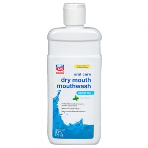 dry mouth - mouthwash