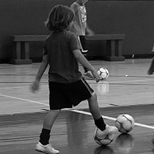 Get the skills you need with our futsal clinics.