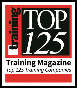 training magazine top 125 training companies badge