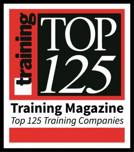 training magazine top 125 training companies badge