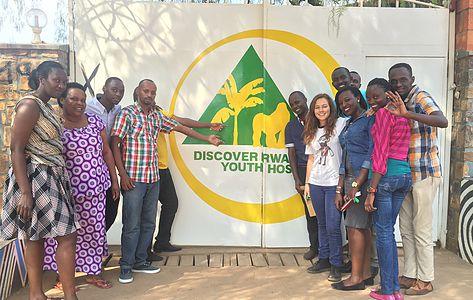 Staff at Kigali Hostel