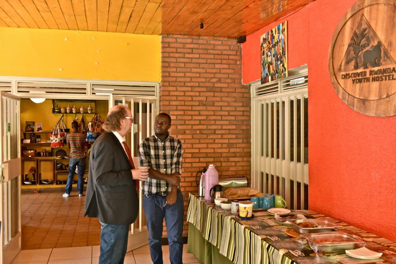 Delicious Breakfast included in your stay at Kigali Hostel