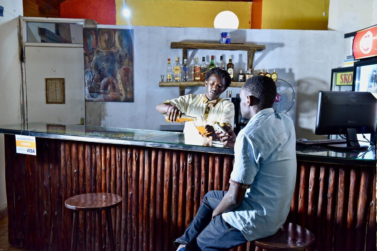 Kigali Hostels Bar
