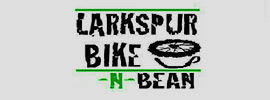 Larkspur bike n beach logo