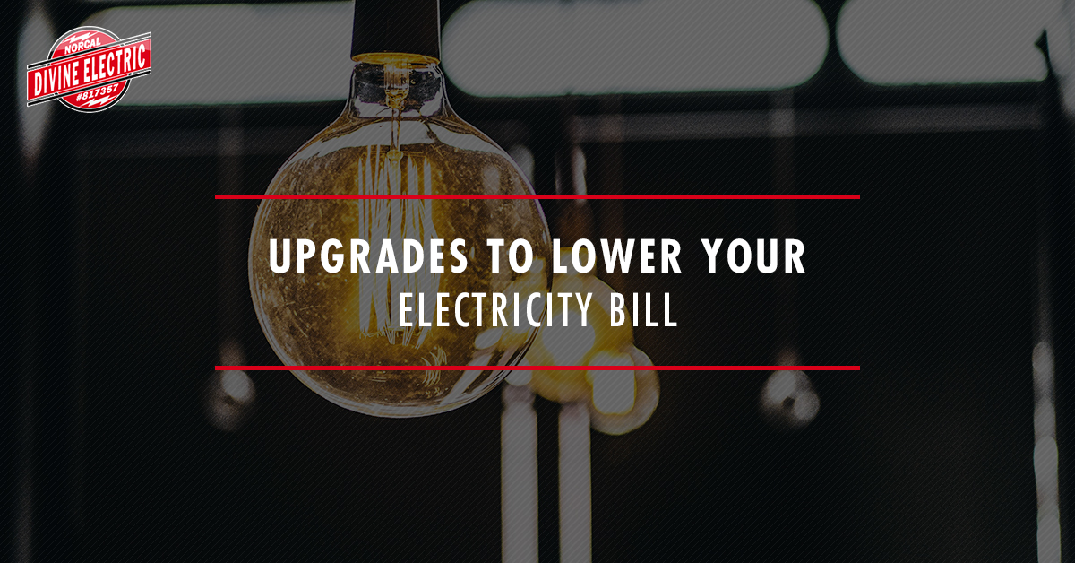Upgrades to lower you electricity bill banner