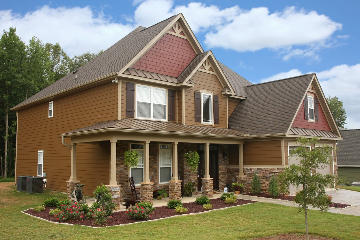 Multi-products and ColorPlus colors for single family homes in Raleigh, NC