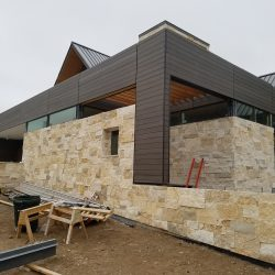 Home with stone and TruGrain pre-stained siding in Colorado Springs - DJK Construction