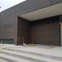 Modern siding TruGrain made with resysta in Colorado Springs - DJK Construction