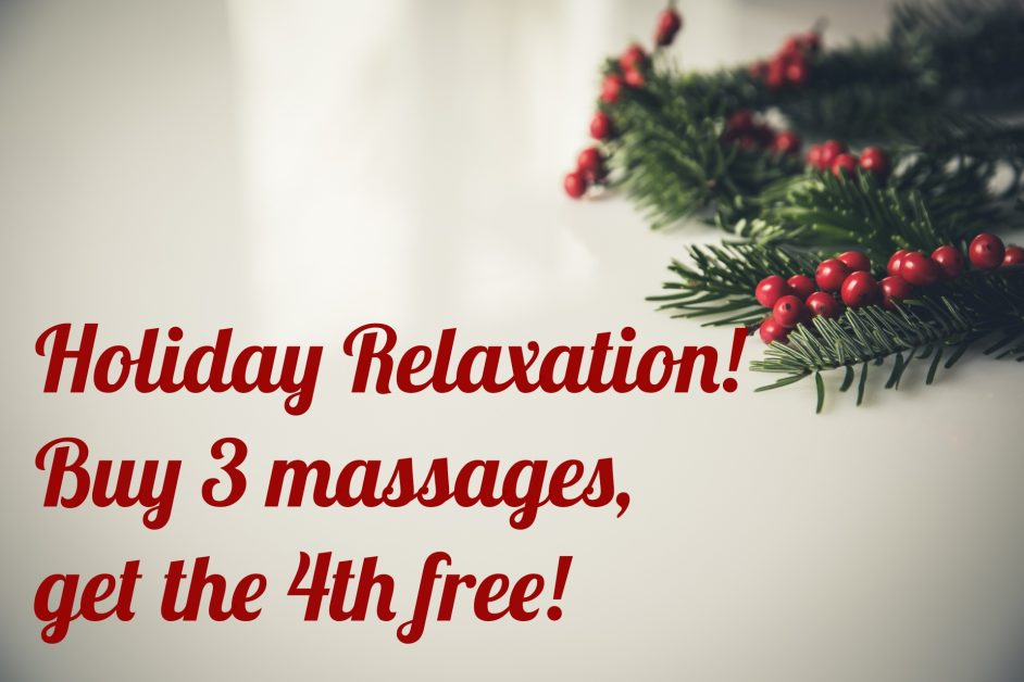 DMR Clinic Rogers: Massage Away Holiday Stress! | DMR Clinic Rogers