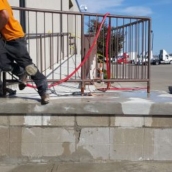 Welding A Handrail Finished Project