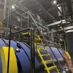 Precision Welding Industrial Handrail