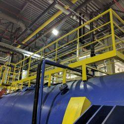 CNC Laser Industrial Handrail