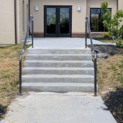 Fabrication Shop Handrail Project