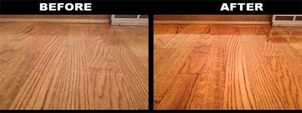 Laminate Cleaner Trick Clean Shine A Dull Floor Done Rite - How to remove mop and glo from hardwood floors