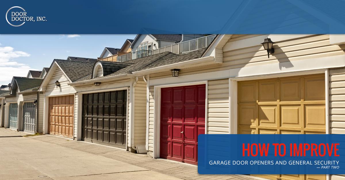 Garage Door Opener Repair Cape Coral How To Improve Garage Door