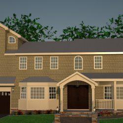 3D Rendering Home Exterior
