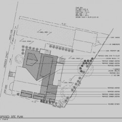 Site Plan Architectural Drawing