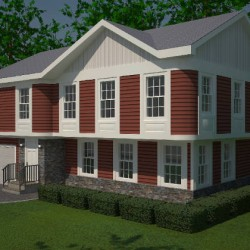 3D Model of Home Front