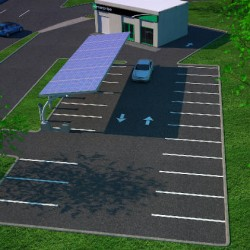 3D Parking Lot Rendering