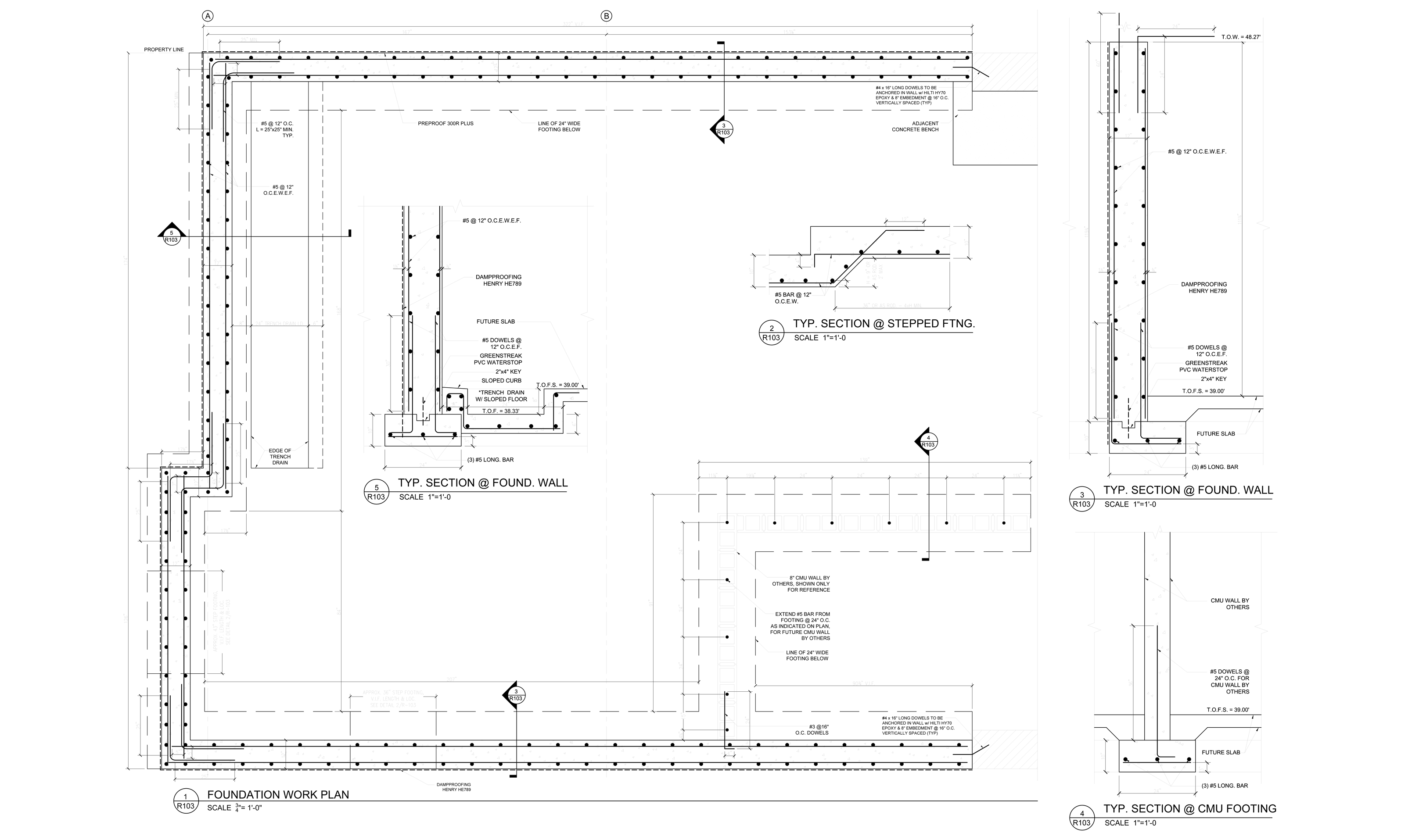 Shop Drawings Drafting For Masons Millworkers More Draftermax Hvac Drawing Key Concrete Rebar Sample 2