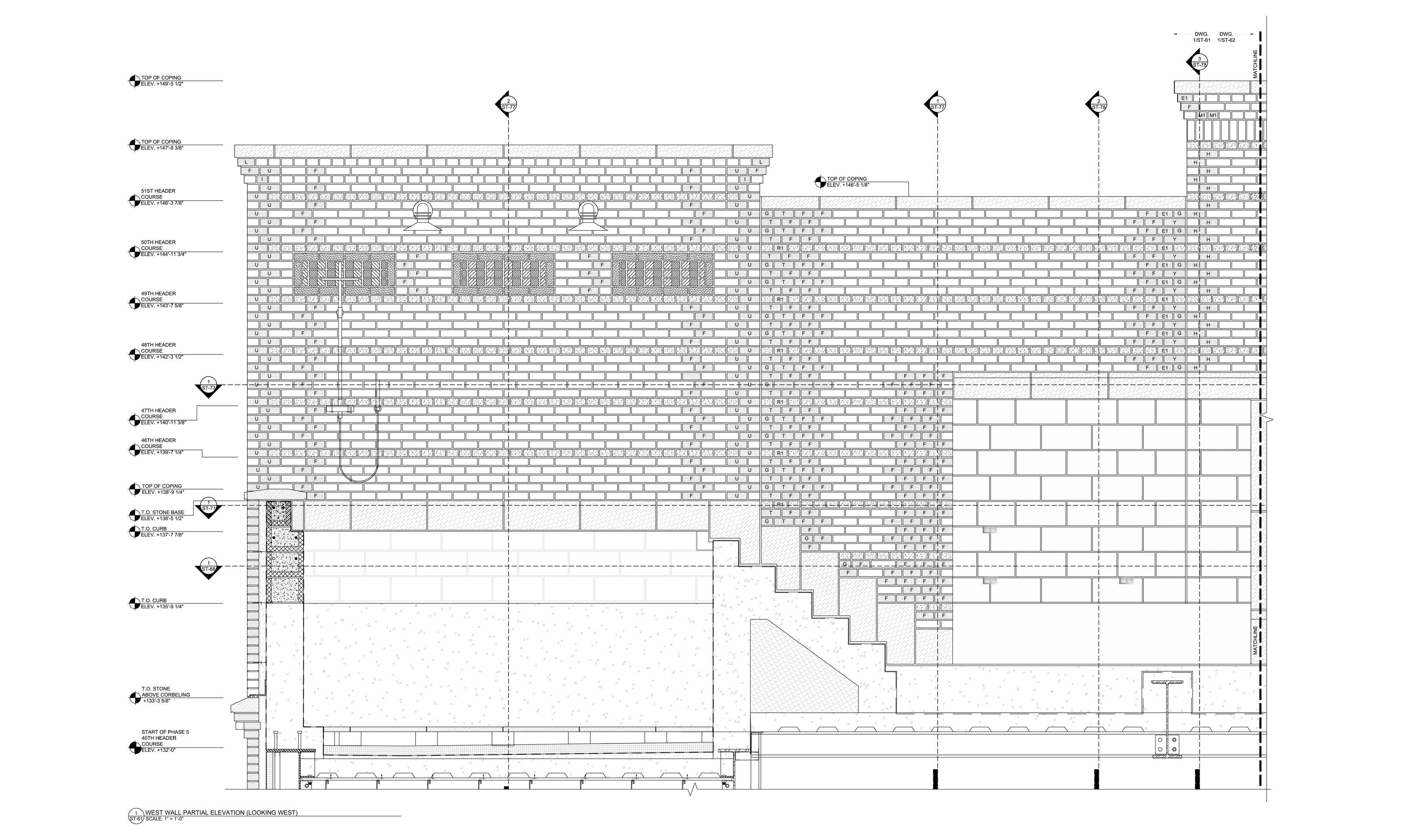 Shop Drawings Drafting For Masons Millworkers More Draftermax Hvac Drawing Samples Masonry Sample 1