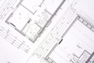 Architectural Draft Drawing