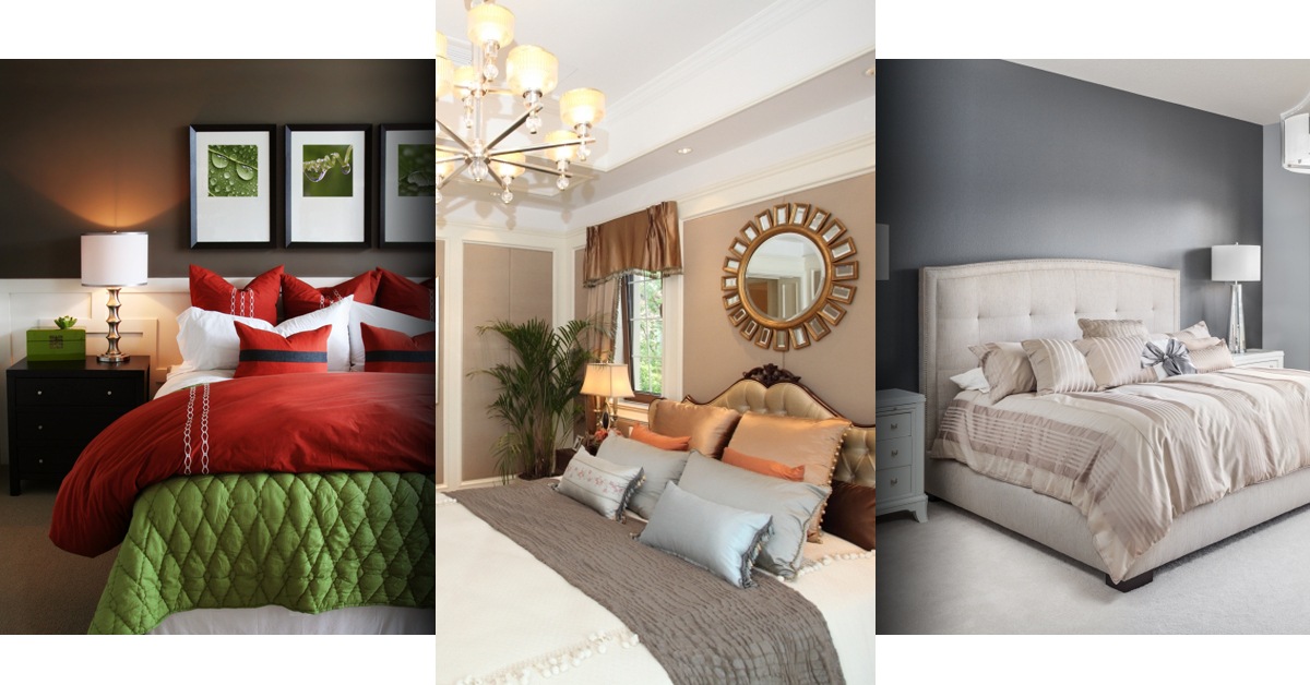 Bedroom Triptych Banner