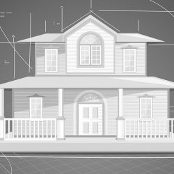 Elevation of a Home