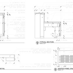 Countertop Shop Drawing