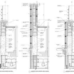 Architectural Rendering of Wall Sections