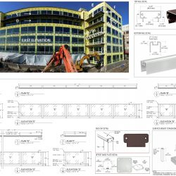 Detail Shop Drawings for Building Facade