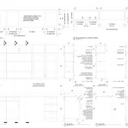 Detail of Cabinetry Shop Drawing