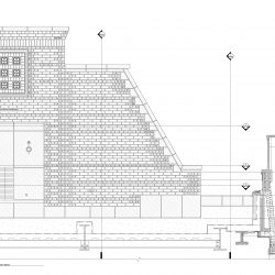 Elevation Shop Drawing of Masonry