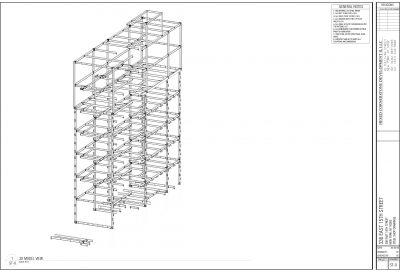 Isometric Steel Shop Drawing