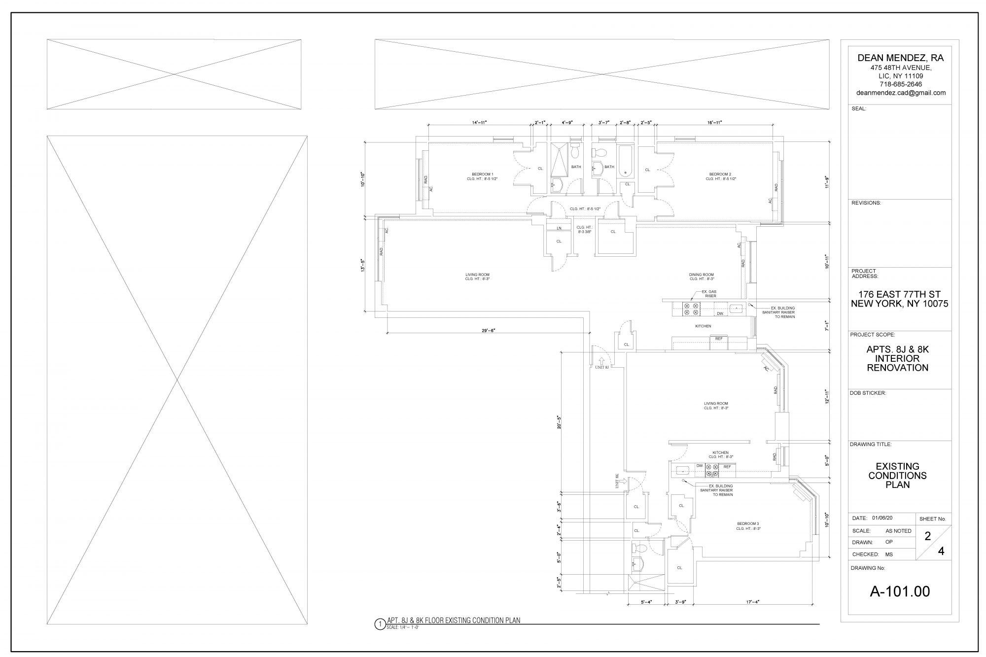Renovation Construction Drawing