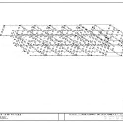 Steel Shop Drawing Isometric
