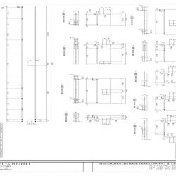 Steel Shop Drawing Detail for 336 East 15th St.