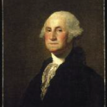 George Washington by Gilbert Stuart, oil on canvas, 1796.