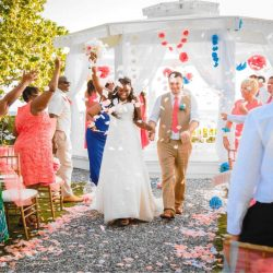Photo of April and Serghei's destination wedding